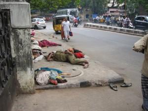 Gatehjørne i Chennai