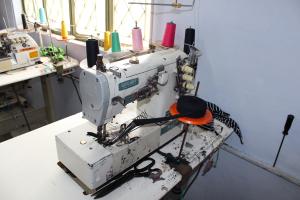 En av symaskinene som skal kjøpes inn