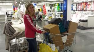 Handletur på Ikea.