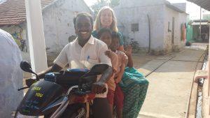Motorsykkeltur på ekte indisk vis.